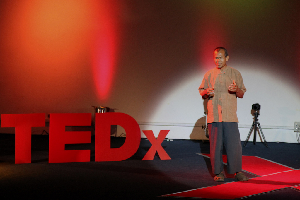 Jon Jandai at TEDxDoiSuthep, May 2011